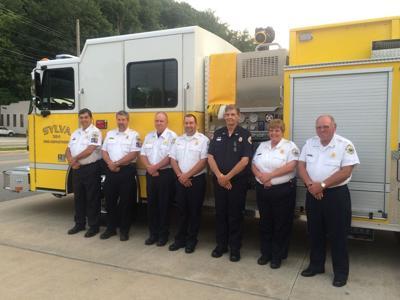 Sylva Fire Department officers