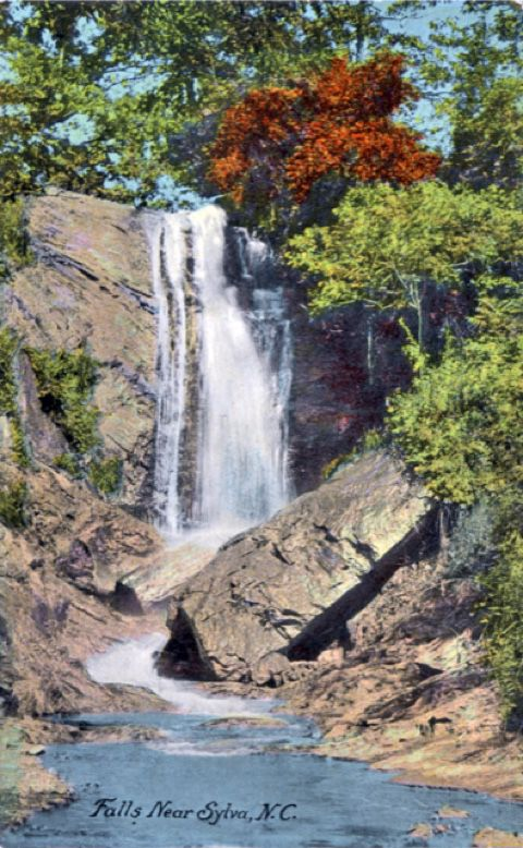 Dills Falls -- destroyed by the bypass
