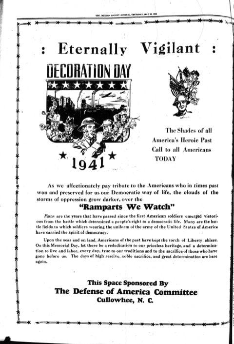 History Memorial Day