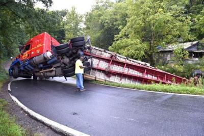 Truck in Savannah Creek