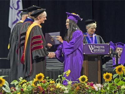 WCU graduation