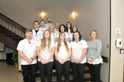 SCC radiography students