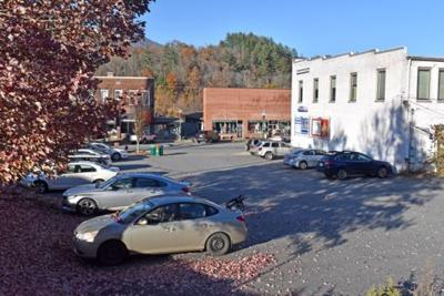 First Baptist parking lot rentd to town of Sylva
