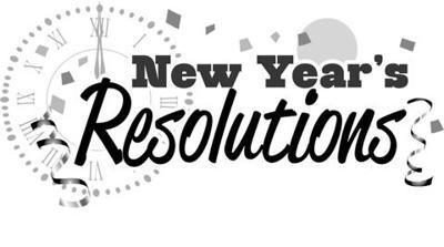 NYE resolutions