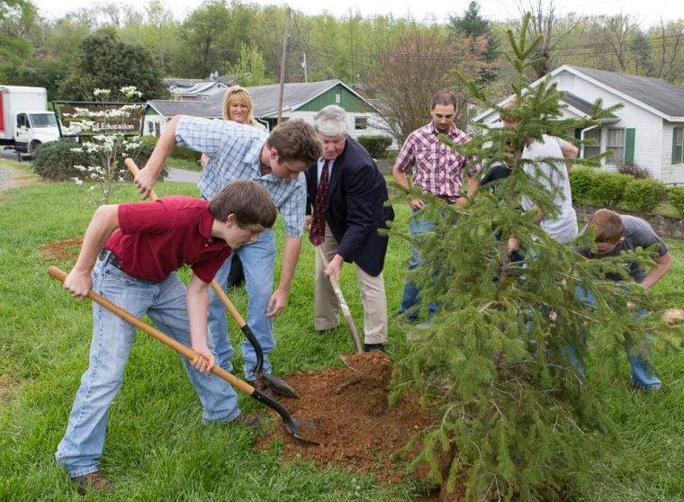 Steve Jones Memorial Tree Planting