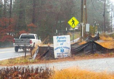 Glenville-Cashiers Rescue Squad building in limbo