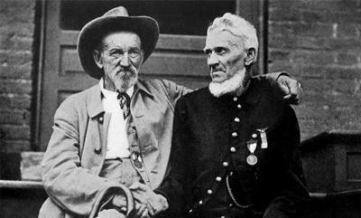 Confederate and Union Veteran