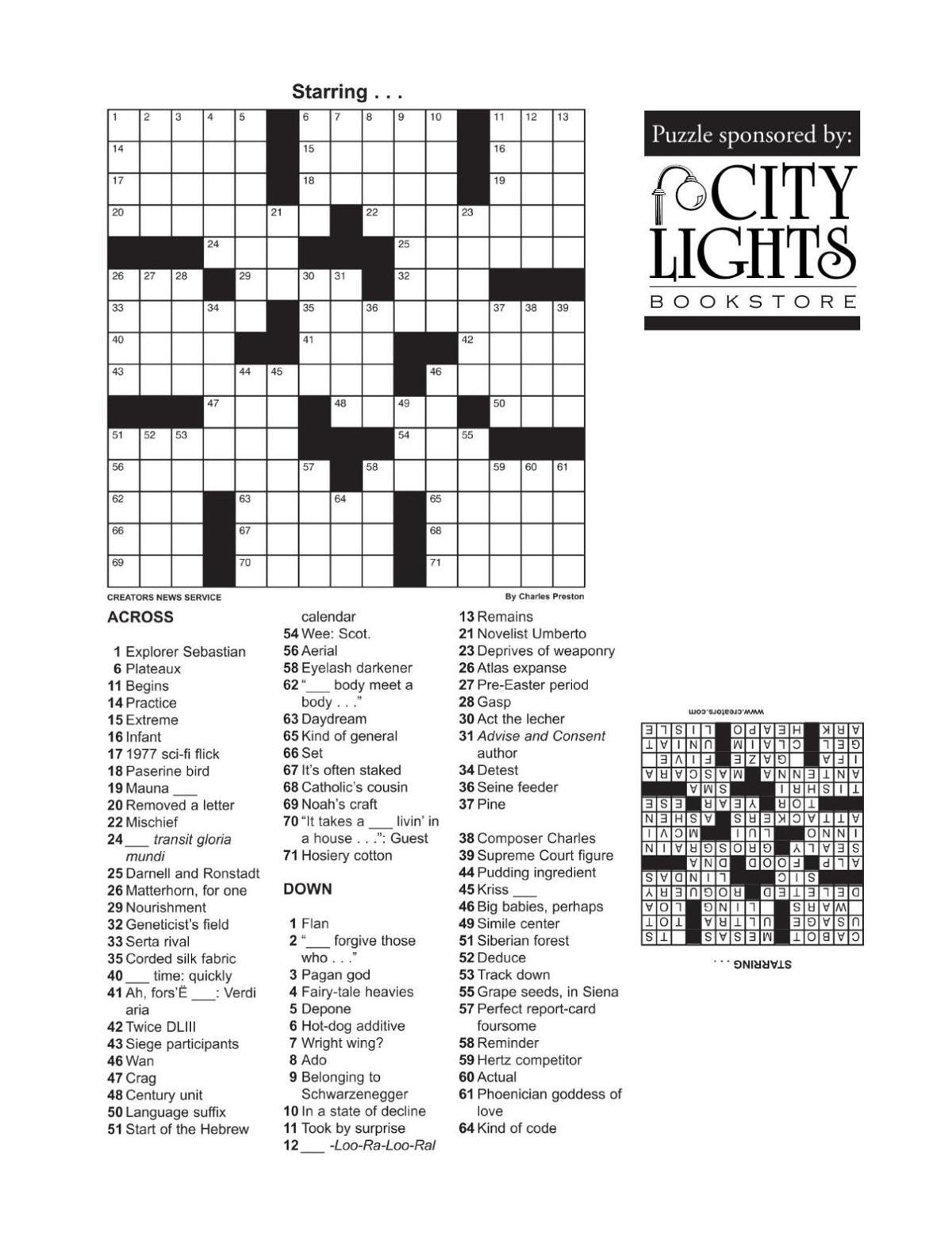 Crossword - July 23, 2015.pdf