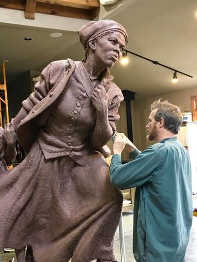 Tubman Sculpture