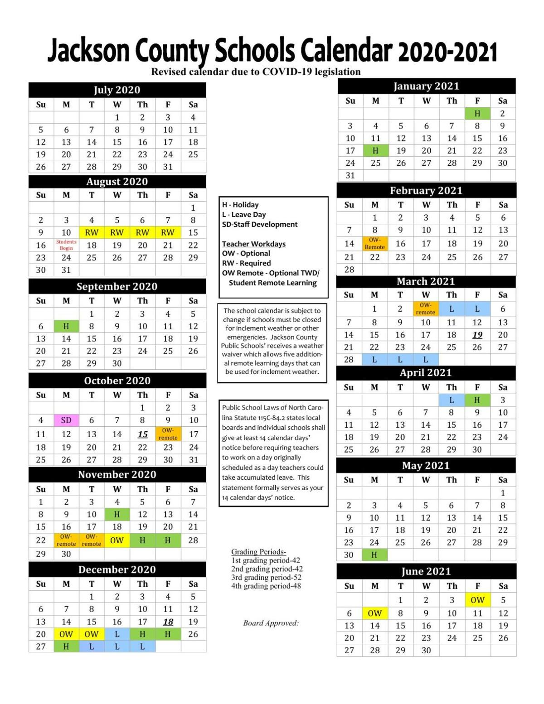 Jcps Calendar 2021 2020 2021 JCPS Calendar     thesylvaherald.com