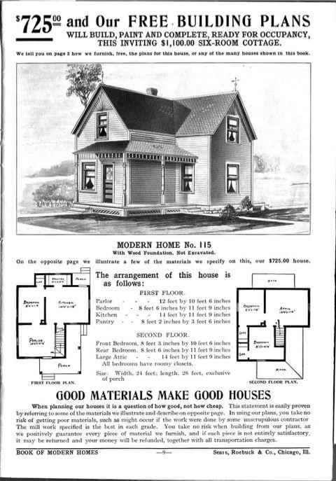buy local sears house