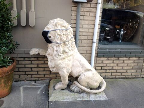 Lion with mask