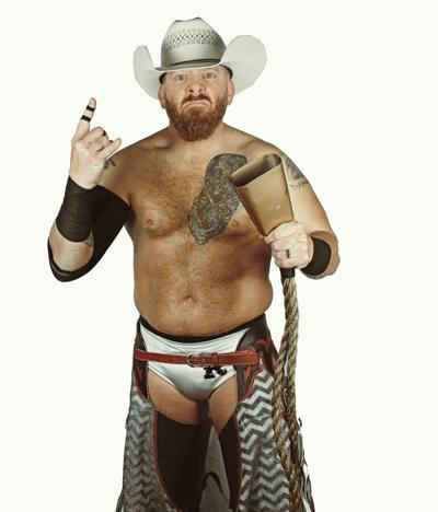 Wrestler Randy Wayne