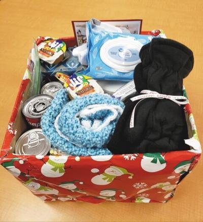 department on aging senior gift box christmas