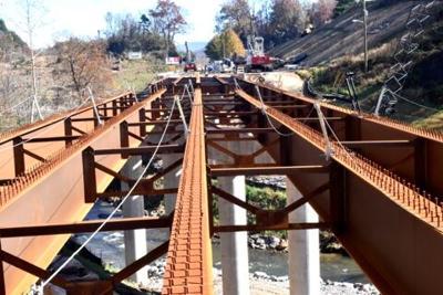 dillsboro bridge i beams