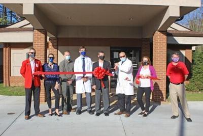Harris Cancer Center ribbon cutting