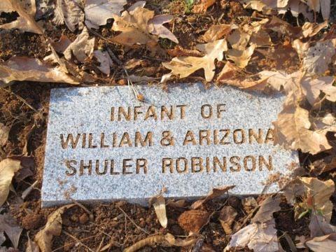 child tombstone