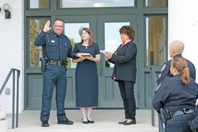 Hatton sworn in