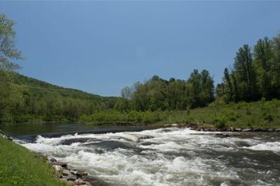 Tuckaseigee River in Dillsboro