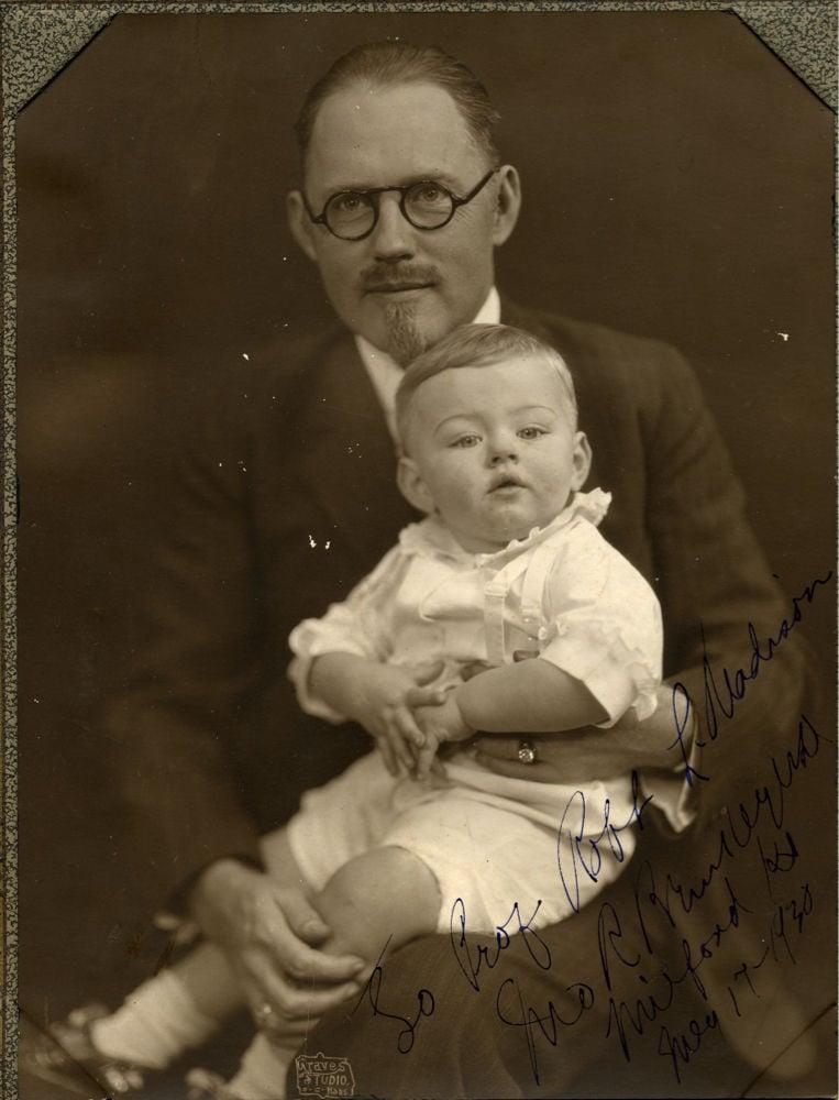 """Dr. John R. Brinkley and """"Johnnie-Boy"""""""