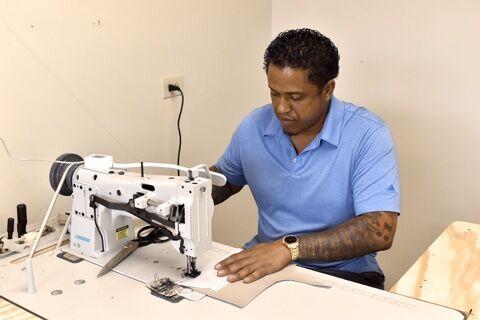 Troy DeBose of Stitches Custom Upholstery
