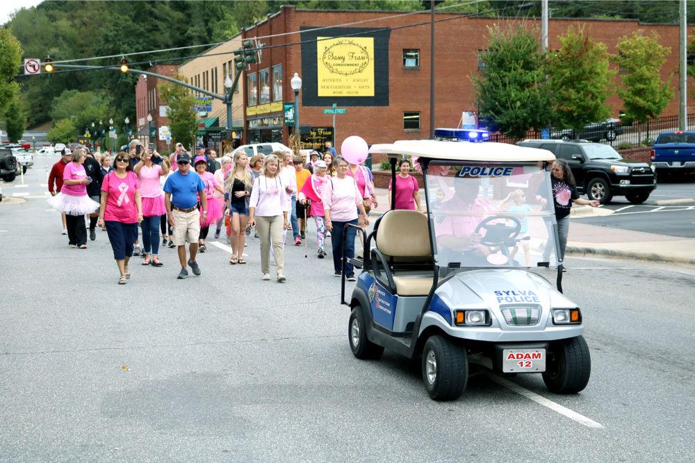 Walk golf cart