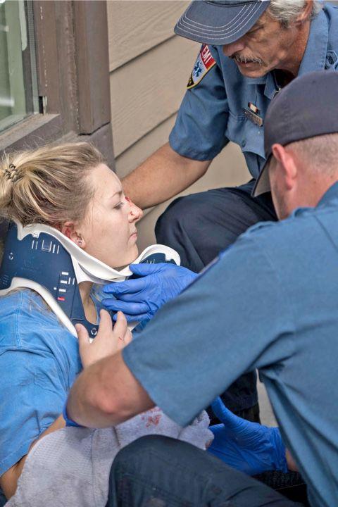 Pedestrian hit in crosswalk in Sylva
