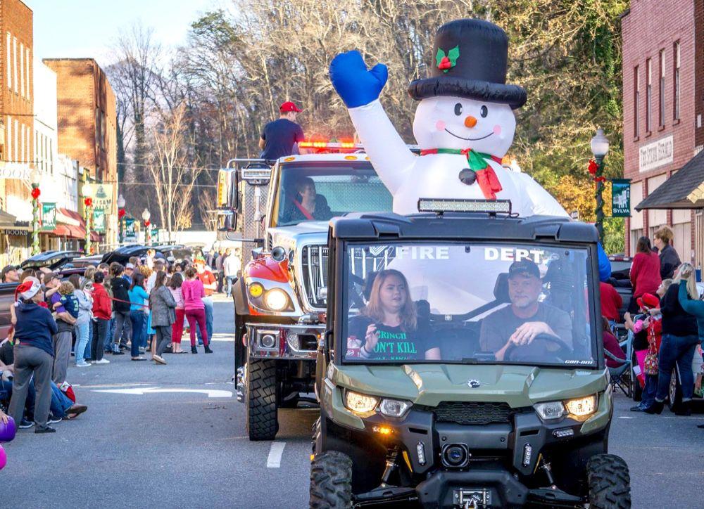 Sylva Christmas Parade