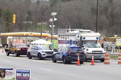 Cherokee Police roadblock qualla boundary