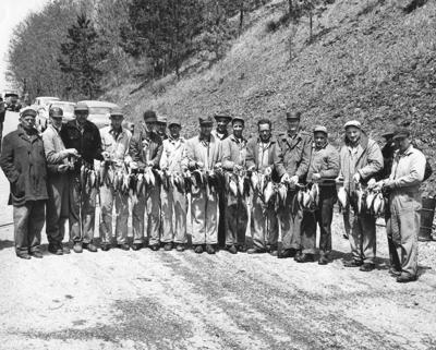 Back then fishing