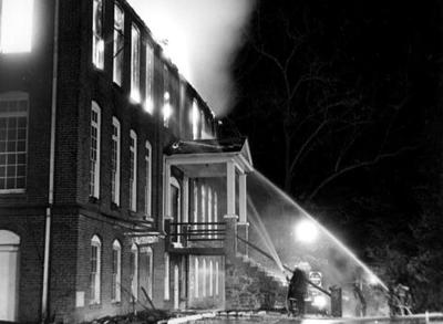 Joyner Building on the WCU campus in January of 1981.