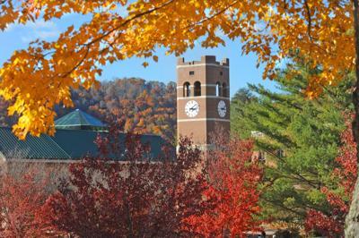 WCU clock tower