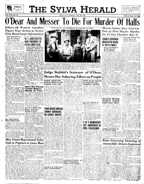 The Sylva Herald | History | thesylvaherald com