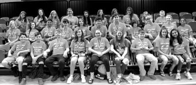 Fairview School's Science Olympiad team