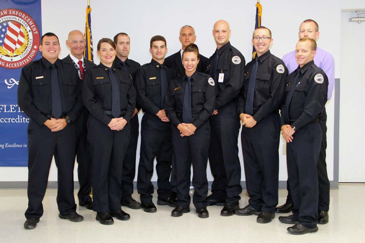 Eight Graduate From Scc Basic Law Enforcement Training Higher