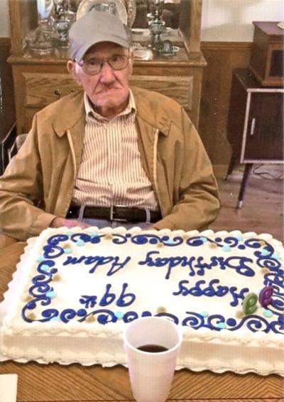 Adam Buchanan turns 99