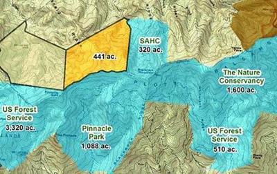 Pinnacle Park Blackrock Tract map
