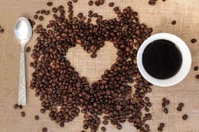 A coffee loving heart