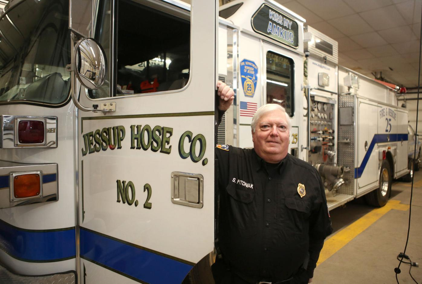 Longtime Jessup firefighter to step down next week after 29 years as chief