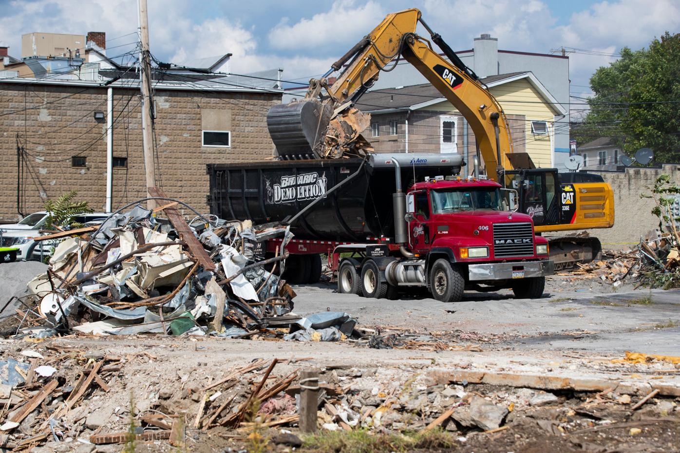 Dunmore building demolition