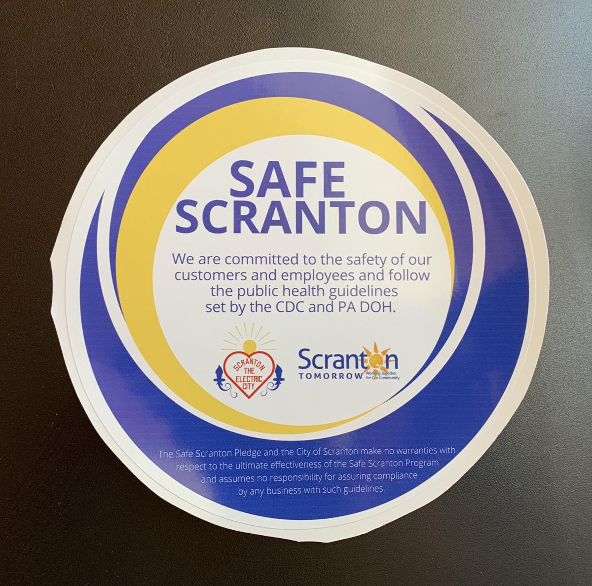 Scranton businesses encouraged to pledge safe practices
