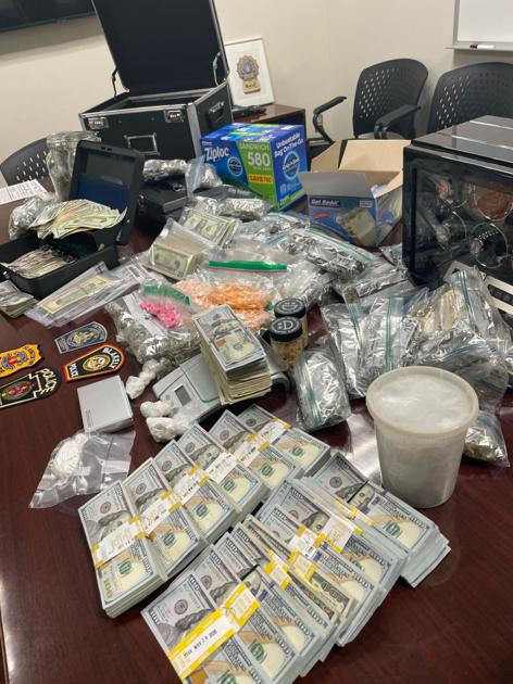 Authorities seize large amounts of cash, drugs in bust