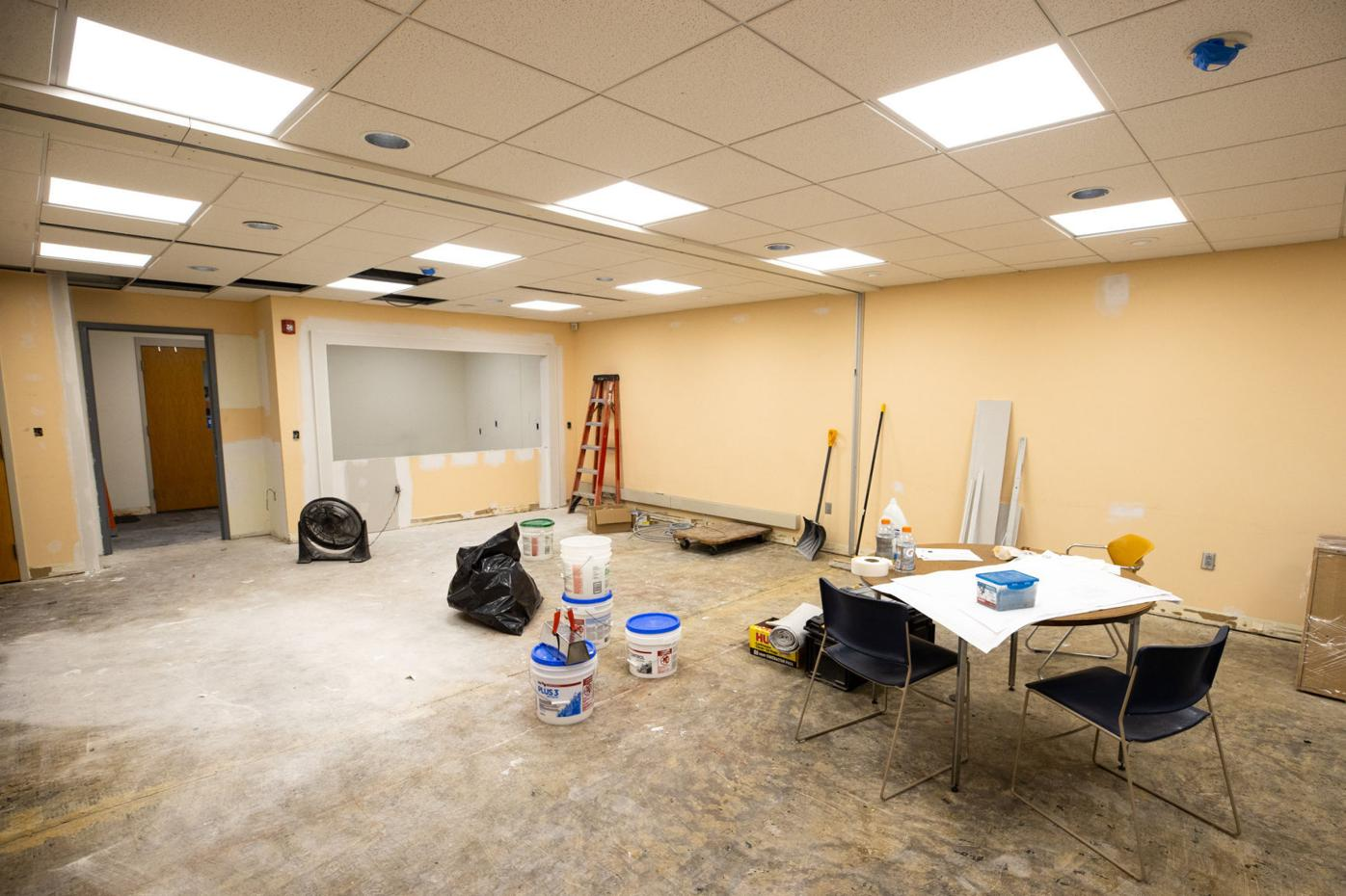 Abington Community Library undergoes renovations