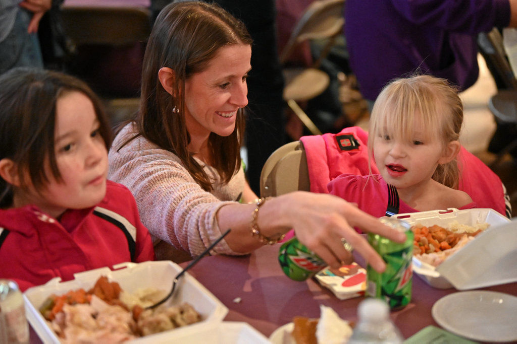 Friends of the Poor Thanksgiving dinner features food, community | News |  thetimes-tribune.com