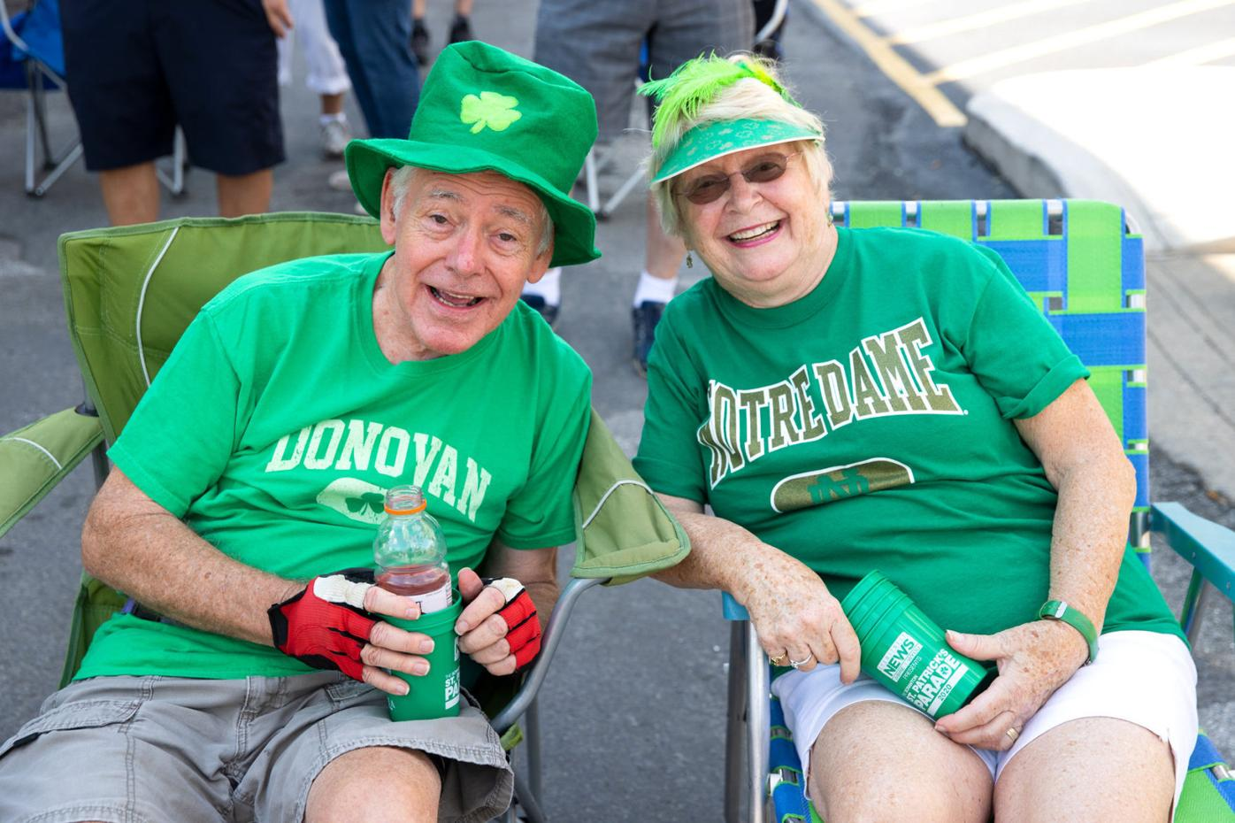 Out&About at the Halfway to St. Patrick's Day Parade in downtown Scranton
