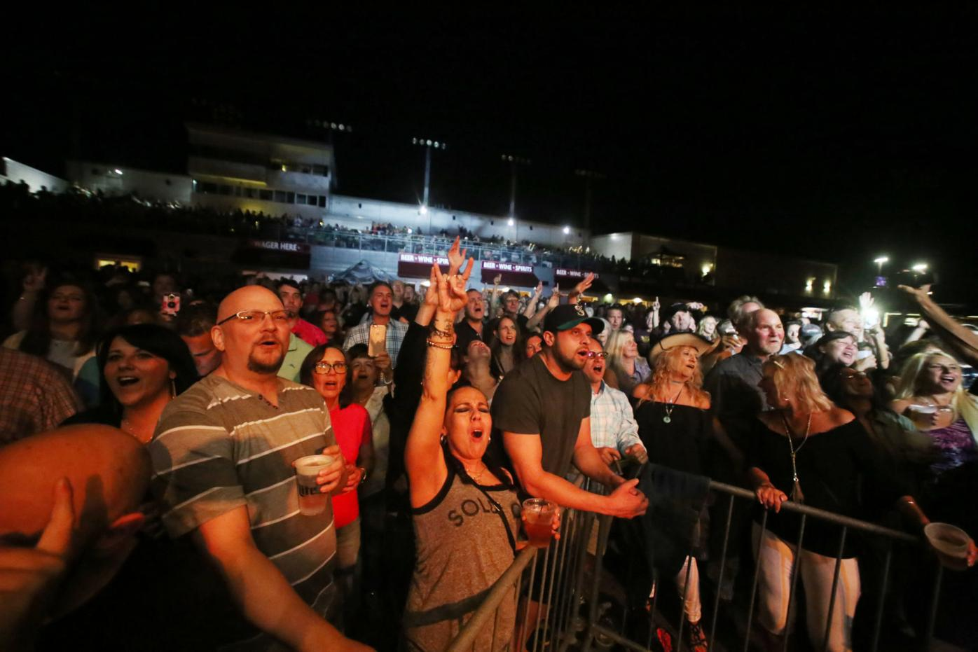Rock starts rolling again as Party on the Patio returns