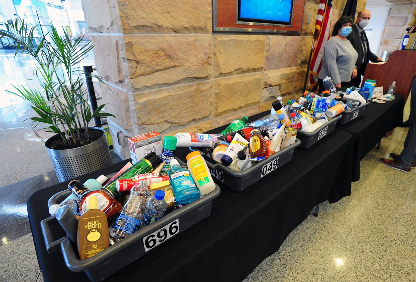 TSA reminds travelers that some things won't fly in carry-ons