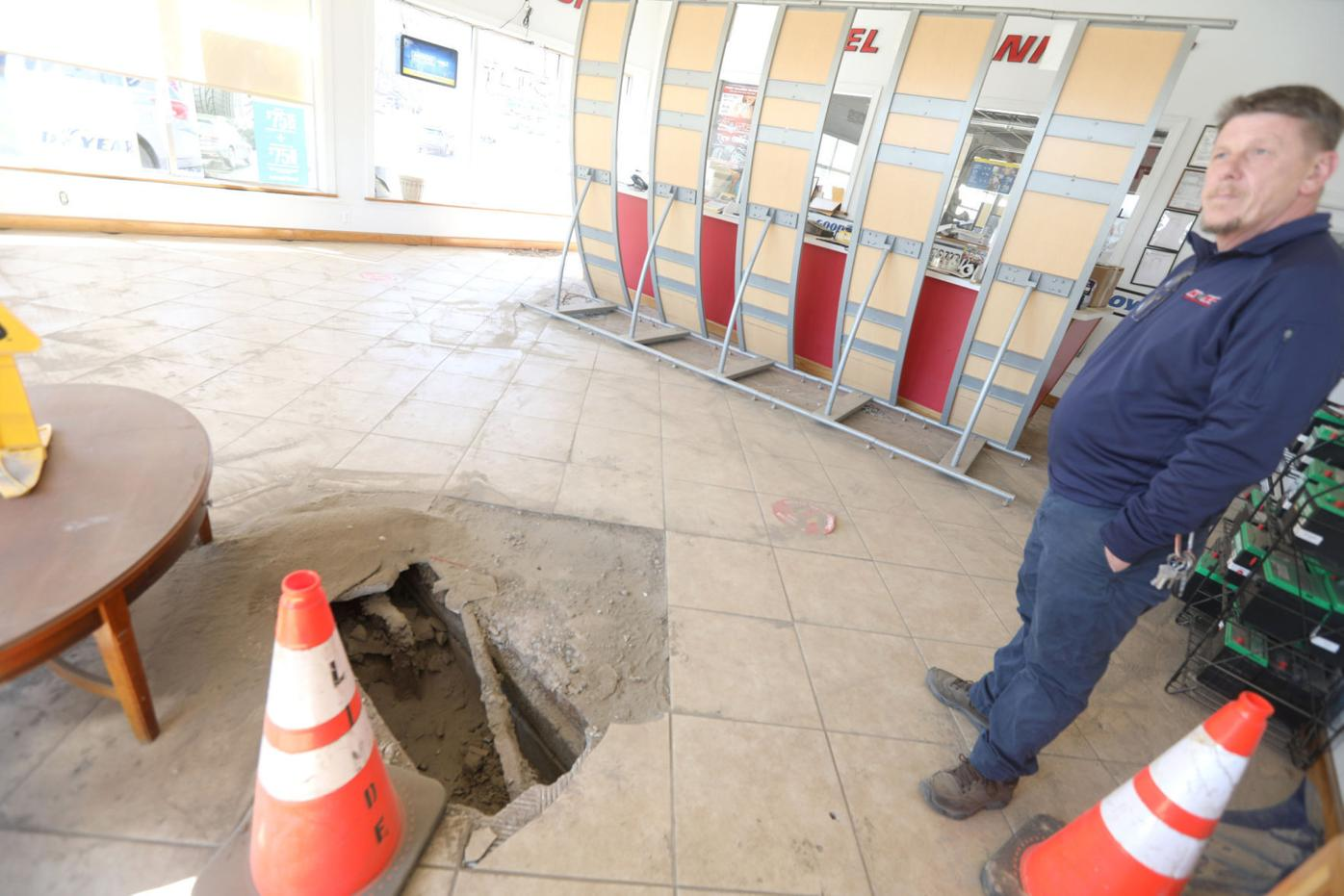 Sugarman's Plaza could have sinkholes beneath