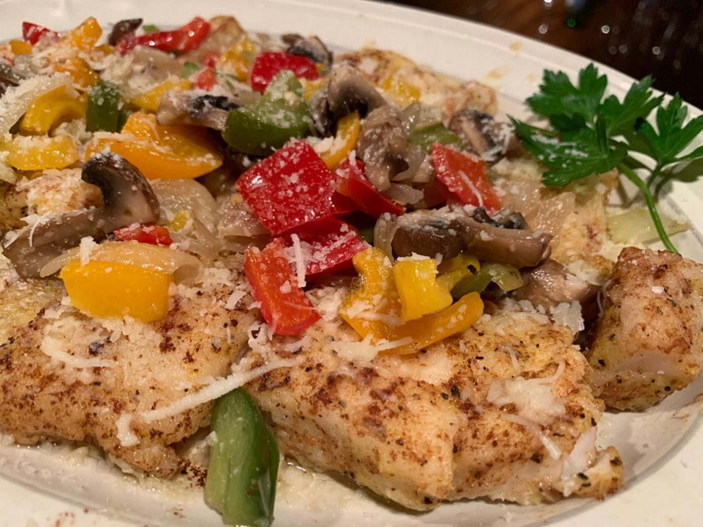 Jim Azzarelli's Locatelli Fish Filets