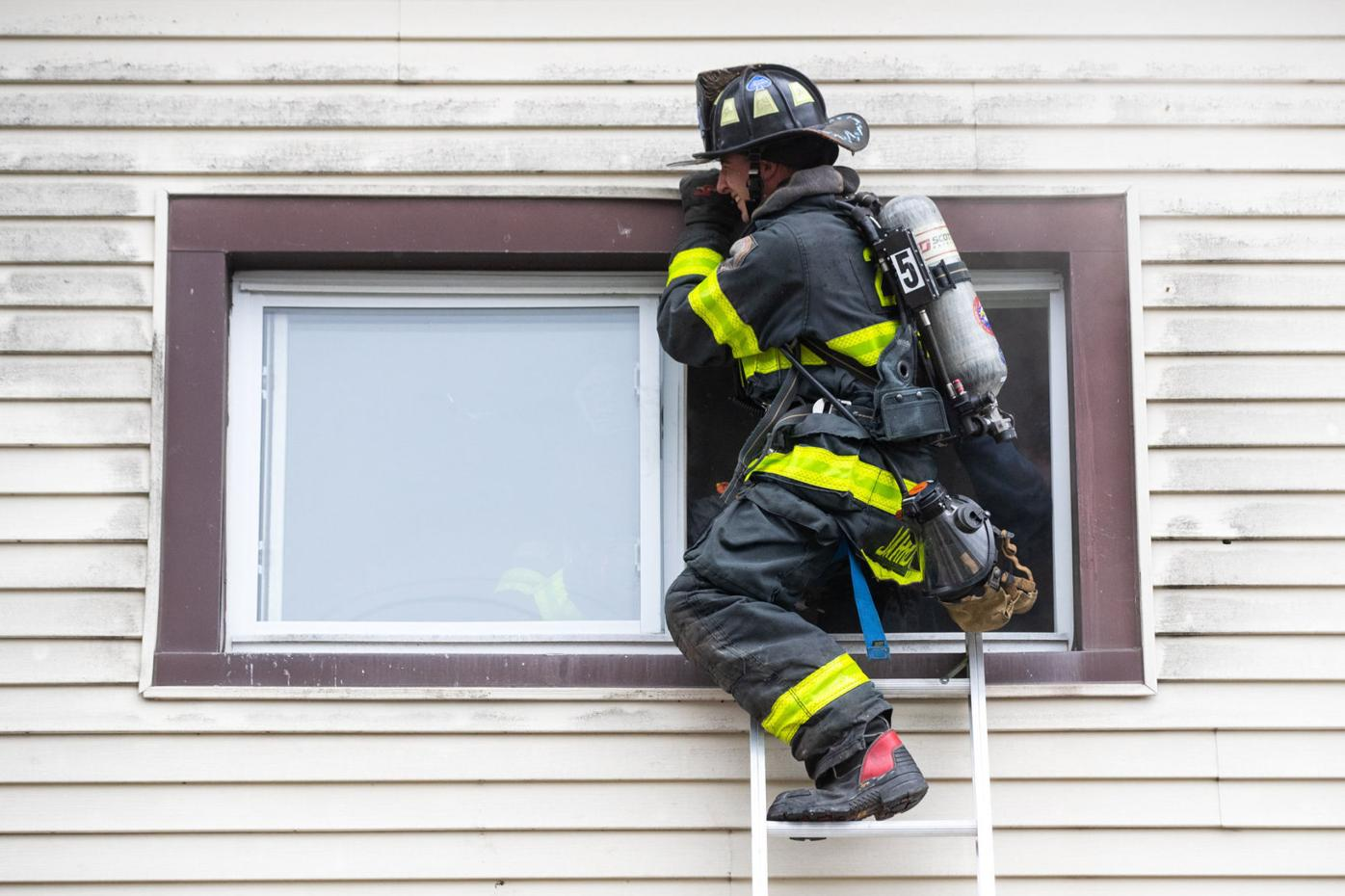 Throop Firefighters Training